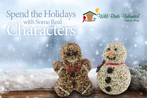 Spend the Holidays with some real Characters